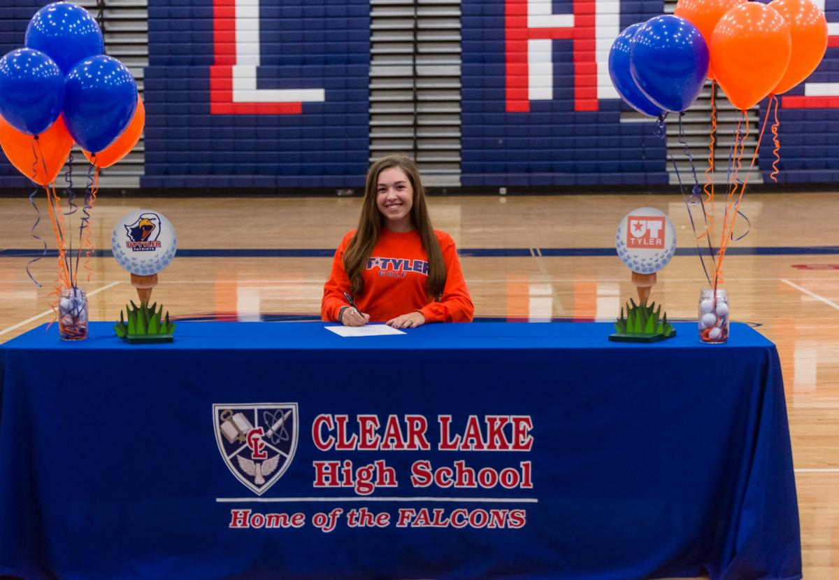 Falcon Golfer Signs With UT Tyler
